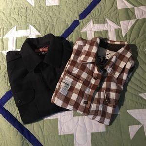 Boys flannel shirt bundle